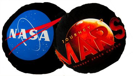 Journey to MARS pillow