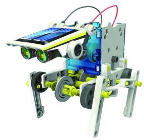 14 in 1 Solar Vehicle Robot