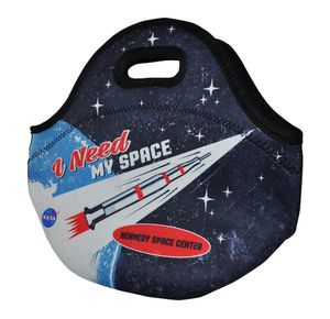 Retro I Need My Space Lunch Tote