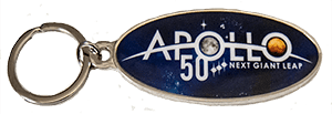 Apollo 50th Key Chain