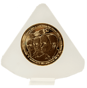 Apollo 50th Coin Bronze