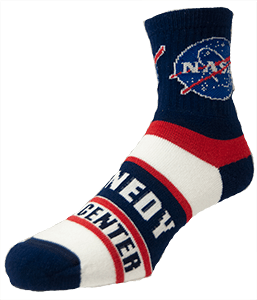 NASA Meatball / Kennedy Space Center Crew Sock