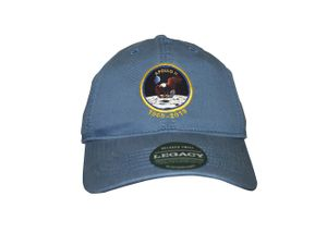Apollo 11 Anniversary Hat Blue