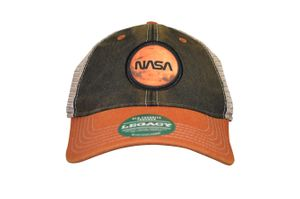 Legacy Mars Patch Hat Blk/Orange