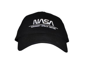 NASA Worm Hat Black