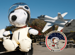 Peanuts celebrates NASAs 50 Years