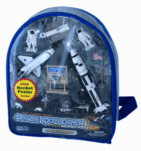 Space Explorer Playset Back Pack