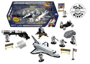 Space Explorer Play Set  20 Piece