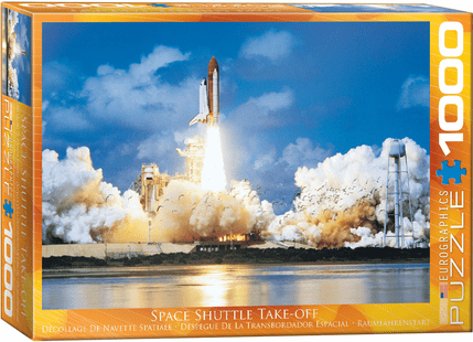 Space Shuttle Take-Off Puzzle