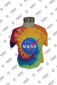 Toddler Tie Dye NASA Meatball Tee