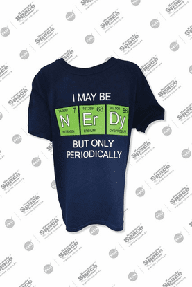 Kids Nerdy Periodical Tee