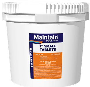 "1"" Stabilized Cleaning Tablets"