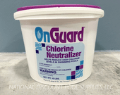 Chlorine Neutralizer by OnGuard 10lbs pail