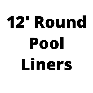 12' Round Above Ground Pool Liners