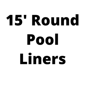 15' Round Above Ground Pool Liners