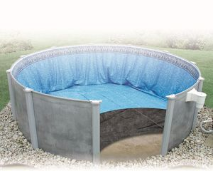 15'x30' Oval Liner Guard Above Ground Pool Pad