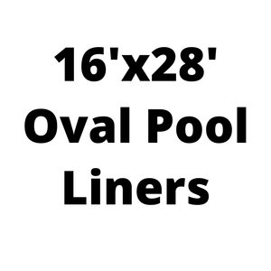 16'x28' Oval Above Ground Pool Liners