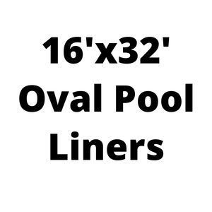 16'x32' Oval Above Ground Pool Liners