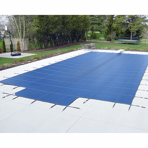 16\' x 32\' Mesh Safety Pool Cover with 90% Sunblock