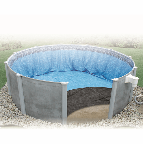 16'x32' Oval Liner Guard Above Ground Pool Pad