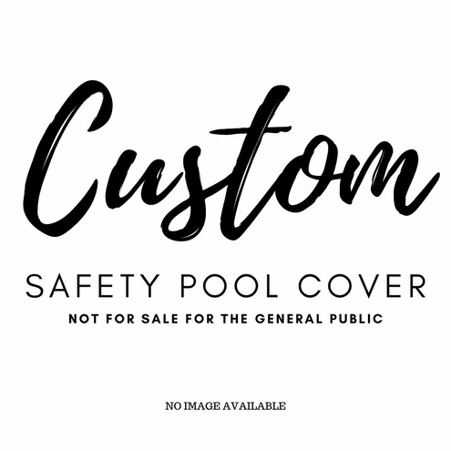 17'x33' Rectangle Aquamaster Safety Pool Cover 100% Solid