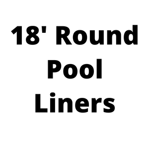 18' Round Above Ground Pool Liners