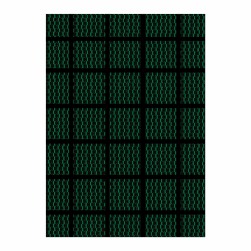18' x 36' Rectangle Standard Mesh 90% Sunblock Safety Pool Cover Green