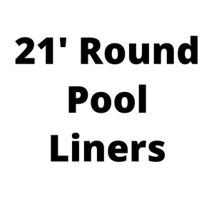 21' Round Above Ground Pool Liners