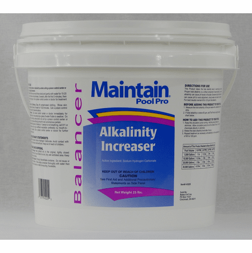 25 lbs Alkalinity Increaser