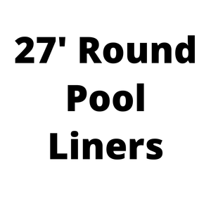 27' Round Above Ground Pool Liners