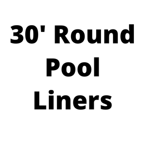 30' Round Above Ground Pool Liners