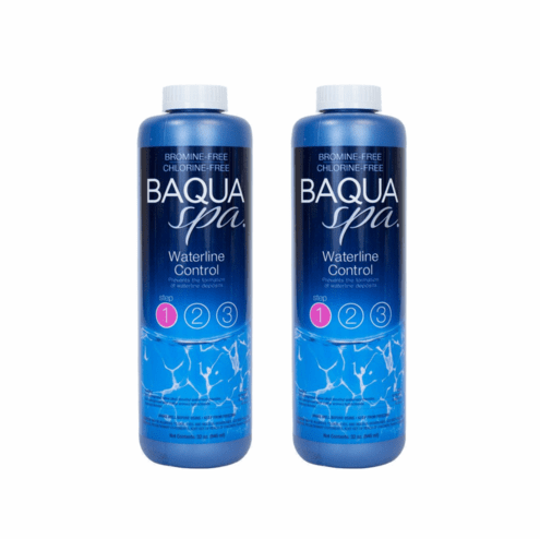 Baqua Spa Waterline Control 2 bottle Deal