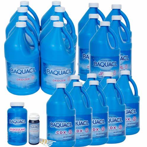 Baquacil CDX Bulk Deal for Pools up to 20,000 Gallons