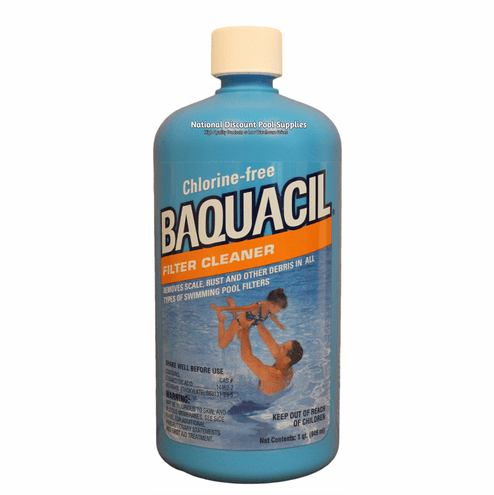 Baquacil Filter Cleaner for Sand - Cartridge Filters and DE Filters