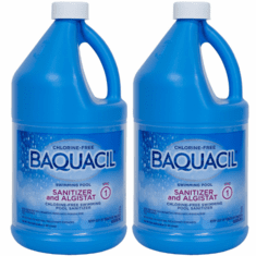 Baquacil Sanitizer and Algistat  2 Pack