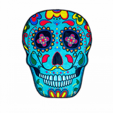 Big Mouth Giant Sugar Skull Beach Blanket
