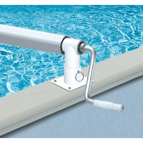 HydroTools Heavy Duty Aluminum Solar Reel for Above Ground Pools up 24' wide