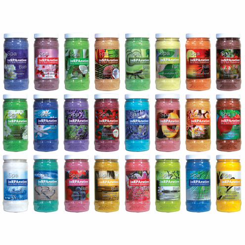 inSPAration Rx Crystals Spa and Bath Aromatherapy 19oz bottle