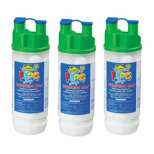 King Technology Frog Leap Torpedo Pac 01-03-7937 3 Pack