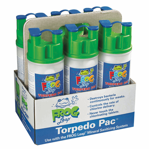 King Technology Frog Leap Torpedo Pac 01-03-7937 6 Pack