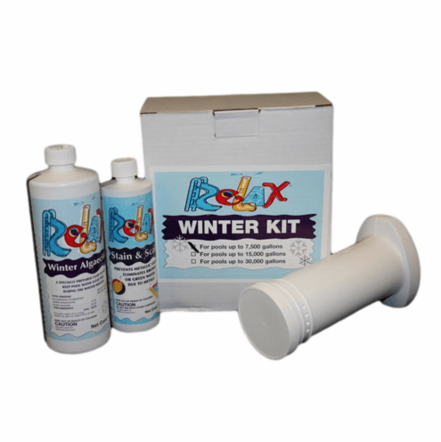 Supreme Pool Winterizing Chemical Kit #1 with Enzyme Floater - Pools up to 7500 gallons