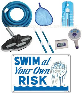 Pool Maintenance and Accessories