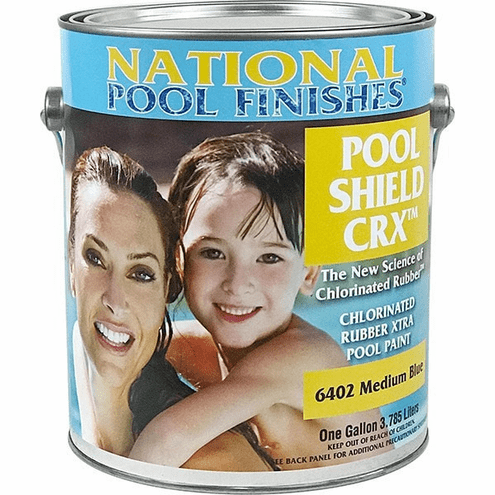 Pool Shield Crx Chlorinated Rubber Pool Paint