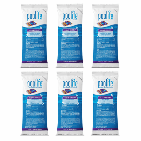 Poolife Clean Shock 6 bag deal