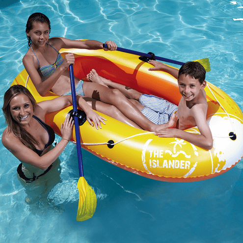 Poolmaster Islander Inflatable Two Person Boat