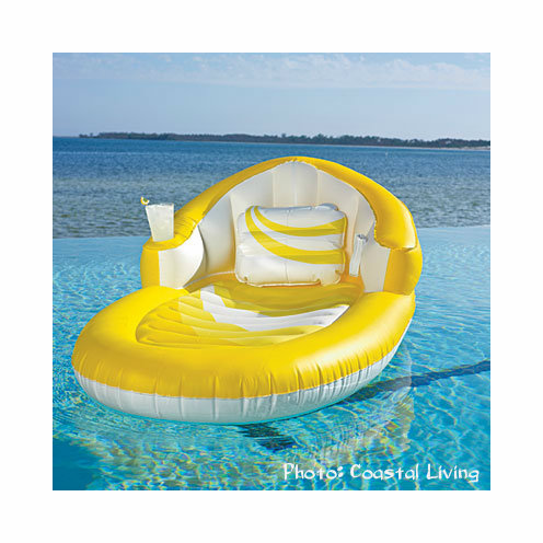 PoolMaster Luxury Lounge with MP3 and Beverage Holder
