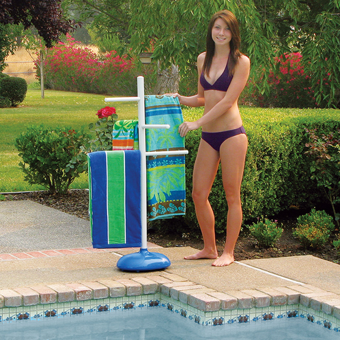 Poolmaster Poolside Towel Tree
