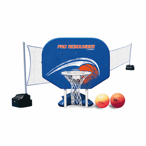 Poolmaster Pro Rebounder Poolside Basketball/Volleyball Game Combo