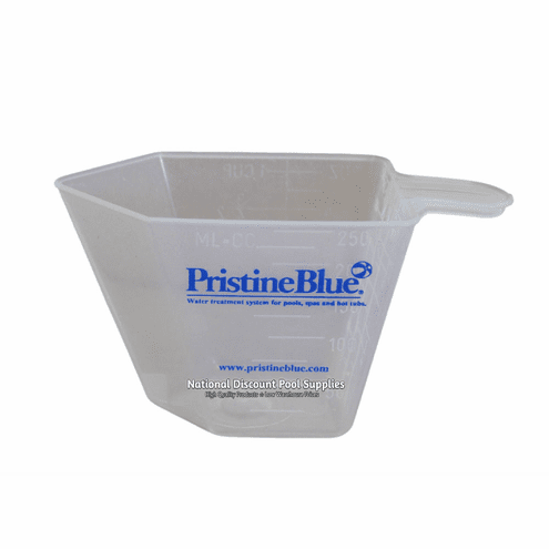 Pristine Blue Pool Chemical Measuring Cup