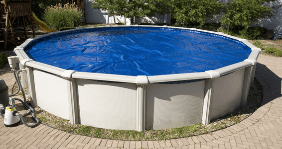 Round Solar Pool Covers